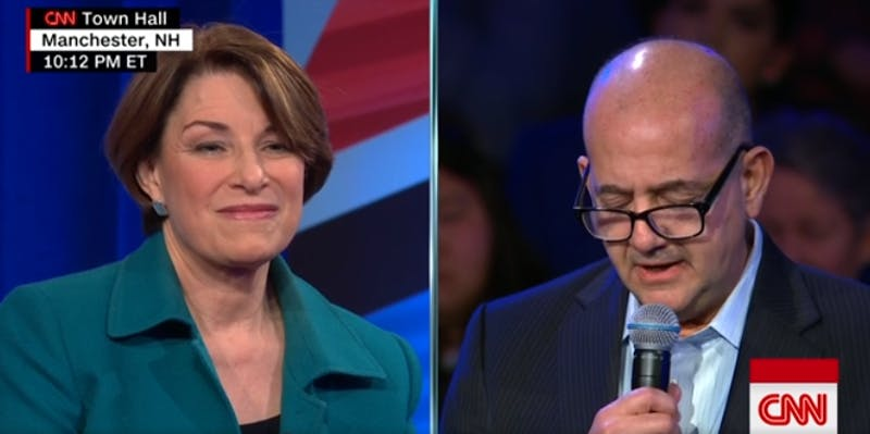 Questions that Amy Klobuchar and all Democrats should be asked